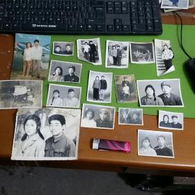 老照片21张合售我们结婚了