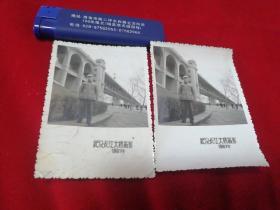 武汉长江大桥老照片2张
