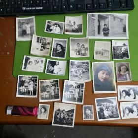 老照片37张合售谁家有女初长成