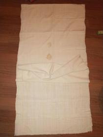 清代老绢一张(全丝质)——书画或装裱用——包浆饱满——243X61厘米