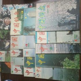 中国钓鱼(创刊号,2,3,5,6,7,8,9,10,12,13,14,16,17,18,19,23,25,26,27共20期合售)
