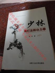 少林海灯法师功力拳 朱宏  合肥工业大学出版社  2015年  85品