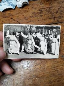 五六十年代南京大学――少数民族舞蹈照片