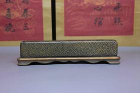 漆器诗文书画盒摆件,尺寸26*16*6.0厘米,细节图如下