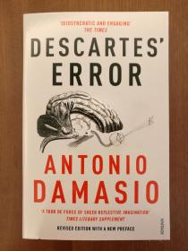 Descartes' Error: Emotion, Reason and the Human Brain(进口原版,国内现货)