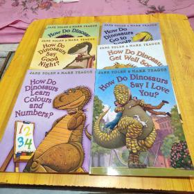 JANE YOLEN MARK TEAGUE(How Do Dinosaurs Say I Love You?、How Do Dinosaurs Go to School? ,6本书合售