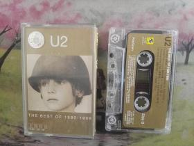 【U2】【THE-BEST-OF-1980-1990】【磁带】