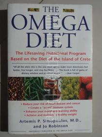 the omega diet : The Omega Diet: The Lifesaving Nutritional Program  (正版现货)