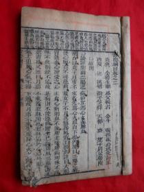 线装古旧书,大开本,中医,济阴纲目,卷9!