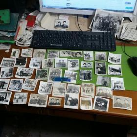 老照片41张合售友谊地久天长