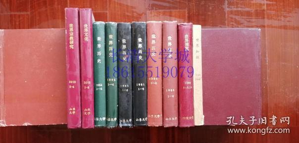 (天津外国语大学)世界文化 杂志月刊 2013上半年全,第1-2-3-4-5-6期,精装合订本1本