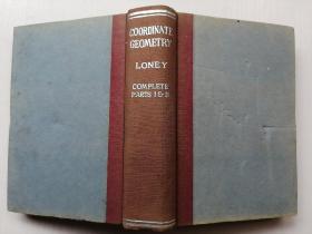 民国英文版:Coordinate Geometry(解析几何)