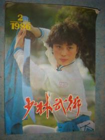 《少林武术》1986年第2期 总15期 河南省武术协会 私藏 品佳 书品如图.