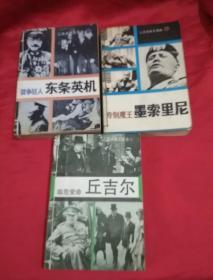 《专制魔王墨索里尼》《临危受命丘吉尔》《战争狂人东条英机》三本