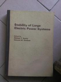 stability of large electric power systems