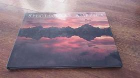 SPECTACULAR AMERICA(壮观的美国 摄影画册)8开精装 私藏品好