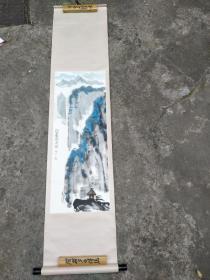 冯力――绘画――自古华山一条道