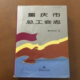 重庆市总工会志 (16开精装)