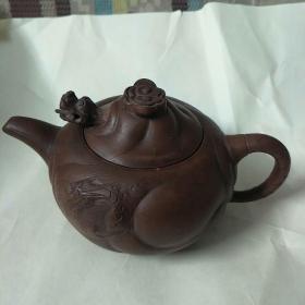 紫砂壶,陆洪仙款