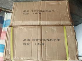 岭南文化百科全书 硬精装2006.12一版一印920页 24页插图  库存16册 原纸箱封装