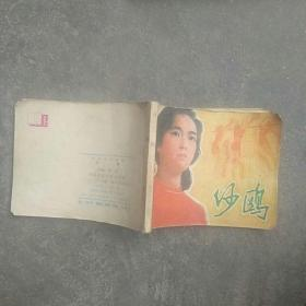 80年代电影连环画,沙鸥