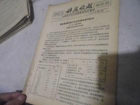 化学化工类科技快报1958年第10期