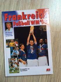 原版1998世界杯硬精画册