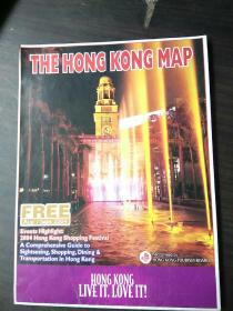 THE HONG KONG MAP(香港地图)