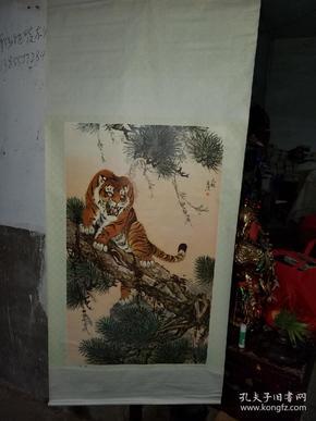 年历画----虎画图
