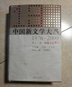 中国新文学大系(1976-2000·第13集·短篇小说卷1)