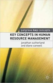 Key Concepts in Human Resource Management (英语)
