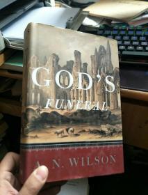 英文原版 GOD\S FUNERAL 上帝的葬礼(精装)