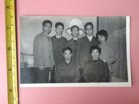 照片,1978年11月,人物,美女,家庭等合影一组,