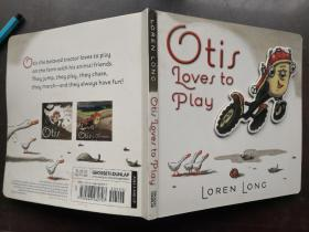 Otis Loves to play全英文原版