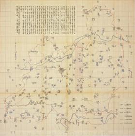 1902年河北安平县老地图、安平县地图、河北老地图。安平县所有村镇绘制详细、房屋、河道、道路、村镇绘制详细、安平县地理史料、比县志类配图精密、精美。特别注意:原图现藏**,原图高清复制。裱框后,风貌极好。