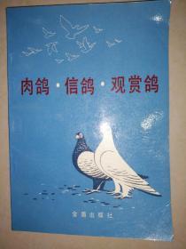 肉鸽·信鸽·观赏鸽