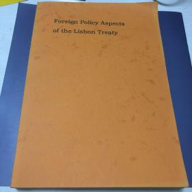Foreign Policy Aspects of the Lisbon Treaty 《里斯本条约》的外交政策方面解读