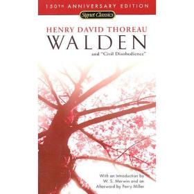 Walden and Civil Disobedience (Signet Classics) 瓦尔登湖和消极抵抗