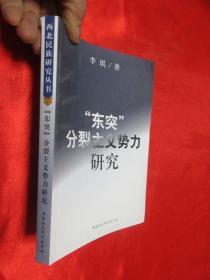 """""""东突""""分裂主义势力研究"""