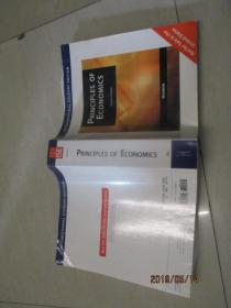 PRINCIPLES OF ECONOMICO经济学原理  、英文版    第四版    实物图   品自定  大16开   32号柜
