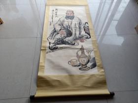名人刘文西人物画一幅2