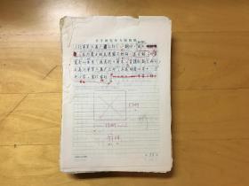 书学研究所散出稿件一宗  内容为古印章,墓志铭等释文16开稿纸477页