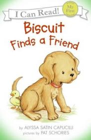 Biscuit Finds a Friend (Book + CD) (My First I Can Read)[小饼干找朋友]