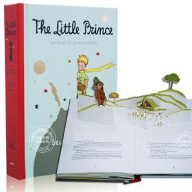 小王子立体书 英文原版 The Little Prince Pop Up