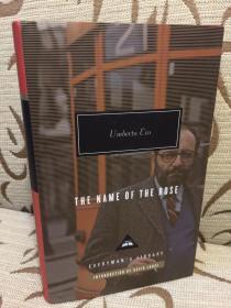 The Name of the Rose by Umberto Eco - 艾柯 《玫瑰之名》人人文库精装 英译本