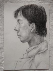 素描  人物