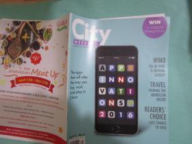 CITY Weekend,2016年第4期,定价3元
