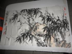 王荣泰 画一副(约102cm×59cm)