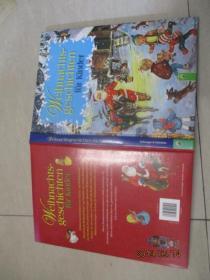 Weihnachts-geschichten fur kinder孩子的圣诞故事    外文版 彩图  品佳   正版书  精装16开  32号柜