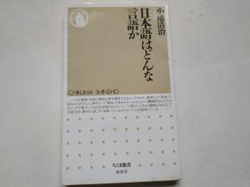 【日文原版】 日本语はどんな言语か
